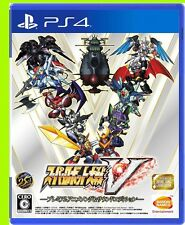 PS4 Super Robot Taisen Wars Game V Premium Anime Song & Sound Edition Japan