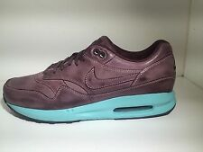 Nike Air Max 1 Burnished Pack 704996-200 Lunar QS Limited Teal 90 Leather SZ 7.5