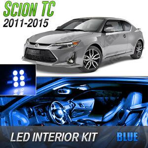 2011-2015 Scion tC Blue LED Lights Interior Kit