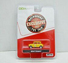1 64 Scale Schuco Melbourne Toy Fair 2020 Mini Cooper Yellow DDA