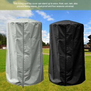 Home Patio Heater Protector Waterproof Outdoor Cover With Zipper  Resistant