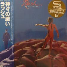 Hemispheres by Rush (SHM-CD paper sleeve ), 2009 WPCR-13477 Japan