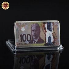 WR Canada 2011 100 Dollars Colored 999 Silver Ingot Bullion Metal Art Bar Crafts