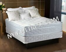 Natures Dream Eurotop Queen Size Mattress and Box Spring by Dream Solutions USA