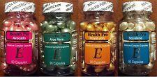 4 bottles Vitamin E Skin Oil  avocado/aloe vera/royal jelly/Squalene  Set of 4