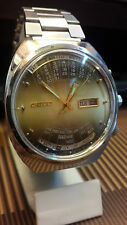 ORIENT AUTOMATIC Y459672-4A DAY & DATE BEAUTIFUL CALENDER BIG VINTAGE WATCH