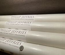 12yd Phillip Jeffries 5357 Tailored Linens Sable Textile Artisanal Wallpaper