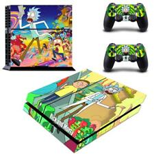 PS4 Console Controllers Skin Rick and Morty Vinyl Skin Cover Decal Sticker Wraps