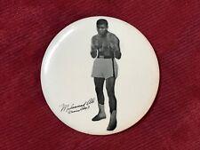 "Original 1960's/'70's Muhammad Ali Pin 3 1/2"""