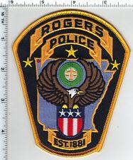 Rogers Police (Arkansas) Shoulder Patch - current