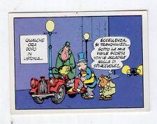 NEW FIGURINE PANINI LE AVVENTURE DI NICK CARTER 1972 LISTA MENU/' A TENDINA