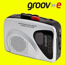 Groov-e Retro Series Personal Cassette Player Recorder Walkman AM/FM Radio New