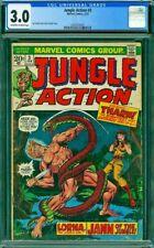 JUNGLE ACTION 3 CGC 3.0 Starlin Giacoia 1973