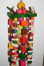 X-Large Parrot Toy 9-Strand over 125 Pc's Jk597