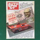 AUTO SPRINT n.6/1975 PORSCHE 908/4 ALFA ROMEO SPORT Rivista/Magazine