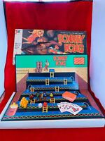 Vintage Donkey Kong Board Game Milton Bradley Not Complete Damaged Box For Parts