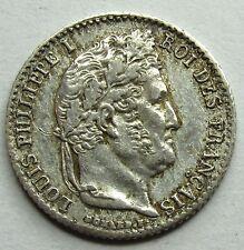 Louis-Philippe Ier - 1/4 de Franc - 1835 W - Lille -