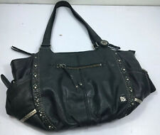 "The Sak Black Soft Leather Hobo Shoulder Bag Purse  16x11x5"" 10"" handle drop"
