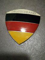 Deutschland Emaille Plakette Oldtimer Badge Vespa Käfer VW Opel Mercedes