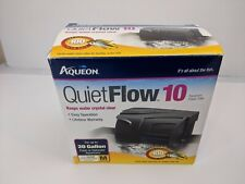Aqueon QuietFlow 10 Gal Aquarium Power Filter Size M New