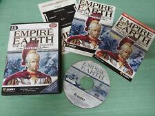 EMPIRES EARTH THE ART OF CONQUEST EXPANSION PC CD-ROM + GUIAS EDICION ESPAÑA