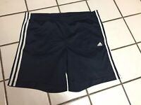 adidas climalite shorts Mens M Blue Basketball Running Work Out Fitness Sport