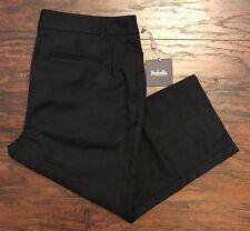Women's Rafaella Curvy Fit Capri Dress Pants Black Size 6 MSRP $58