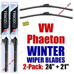 WINTER Wipers 2-Pack Premium Grade - fit 2004-2006 Volkswagen Phaeton 35240/210