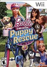 Barbie & Her Sisters Puppy Rescue USED SEALED (Nintendo Wii, 2015)