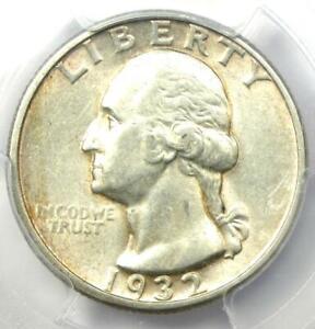 1932-D Washington Quarter 25C - Certified PCGS AU55 - Key Date Coin!