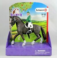 NEW! Schleich Horse Club Showjumper 42358 Black Riding Set Red Hair Girl Rider
