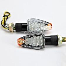 14LED Turn Signals Blinkers Lights For Yamaha YZF R1 R6 R6S 600R 750R YZR FZ1