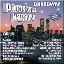 NEW - Party Tyme Karaoke - Broadway (16-song CD+G) by Party Tyme Karaoke