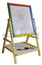CHEVALET BOIS TABLEAU DESSIN 2 FACE ARDOISE NEUF 91 jeu jouet enfant peinture