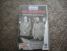 """VHS - Diktatoren """"Der Aufstieg des Faschismus"""""""