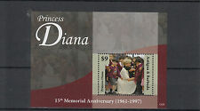 Antigua & Barbuda 2012 MNH Princess Diana 15th Memorial Anniversary 1v S/S