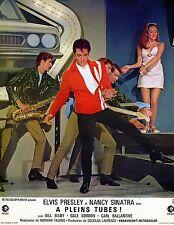 ELVIS PRESLEY SPEEDWAY A PLEINS TUBES 1968 VINTAGE LOBBY CARD N°10