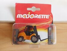 Majorette Fork Lift Truck in Yellow on Blister