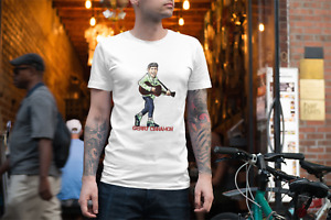 Gerry Cinnamon Adults Tee Tshirt - She is a Belter - Funny Humour - Gig Top