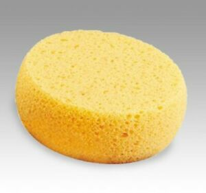 "Mehron Foam Makeup Sponge Round Yellow ""Hydra"" Cosmetic Application Sponge"