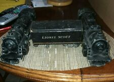 2 Lionel 1110 Scout Locomotive and 1 Tender