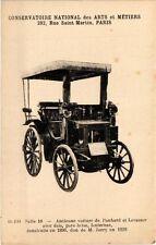 CPA PARIS (3e) Cnam - Ancienne voiture de Panhard et Levassor (215073)