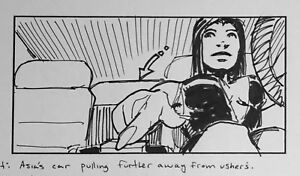 USHER Rhythm of the City Music Video original Storyboard Dan Fraga 2004 3