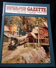 Narrow Gauge & Short Line Gazette 2009 January February D&RGW Spreader John Deer