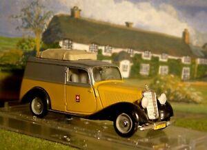 Vitesse. Ref. 290. Mercedes 170 Swiss Post Van. Excellent condition box scruffy.