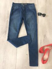 Denim Co Uk12 Primark Jeans Jeggings Slim Skinny Ladies Fitted  Stretch Blue New