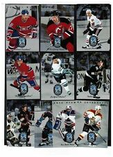 1995-96 Donruss Rated Rookie Insert Set w/ Koivu Alfredsson