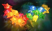"🎄 20 PIFCO ""CHRISTMAS STARS"" FAIRY LIGHTS VINTAGE LILLIPUT SCREW IN BULBS RARE"