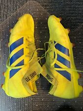 Adidas nemesis 18.1 mens 13 Soccer Cleats Shoes Yellow Blue