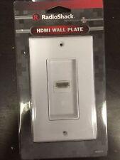 (3 pc) RadioShack HDMI Decorator Wall Plate Cover 1 Port Extender Jack 1080P HD